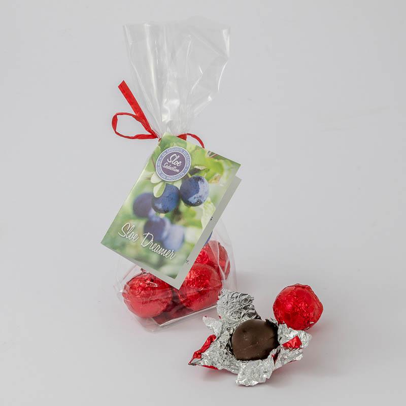 Sloe Gin Liqueur Chocolates – Sloe Dreamer