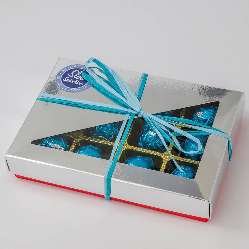 Sloe Gin Chocolates Box of 12